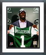 New York Jets Muhammad Wilkerson Press Conference Framed Photo