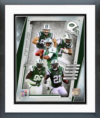 New York Jets New York Jets Team Composite Framed Photo