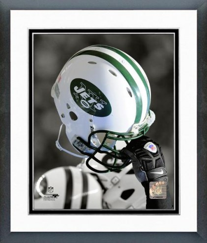 New York Jets New York Jets Helmet Spotlight Framed Photo