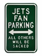New York Jets NFL Authentic Parking Sign