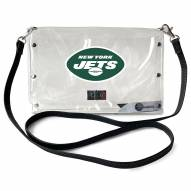 New York Jets Clear Envelope Purse