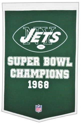New York Jets NFL Dynasty Banner