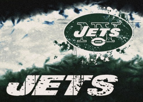 New York Jets NFL Fade Area Rug
