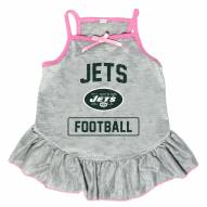 New York Jets NFL Gray Dog Dress