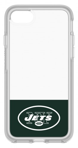 New York Jets OtterBox iPhone 8/7 Symmetry Clear Case