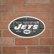 New York Jets Outdoor Logo Graphic