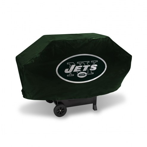 New York Jets Padded Grill Cover