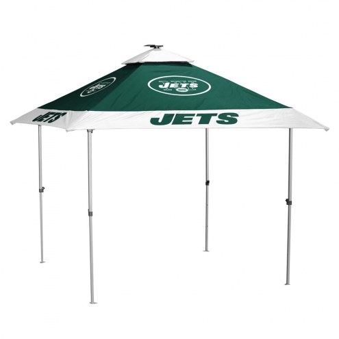 New York Jets Pagoda Tent with Lights