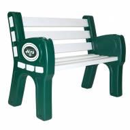 New York Jets Park Bench