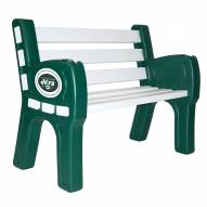 New York Jets Park Bench