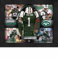 New York Jets Personalized 11 x 14 Framed Action Collage
