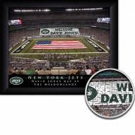 New York Jets 11 x 14 Personalized Framed Stadium Print