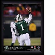 New York Jets Personalized 11 x 14 NFL Action QB Framed Print