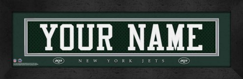 New York Jets Personalized Stitched Jersey Print