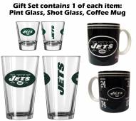 New York Jets Pint, Shot, Coffee Mug Set
