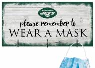 New York Jets Please Wear Your Mask Sign