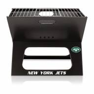 New York jets Portable Charcoal X-Grill