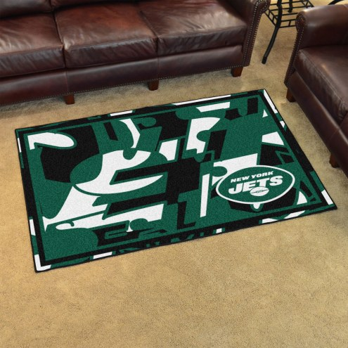 New York Jets Quicksnap 4' x 6' Area Rug