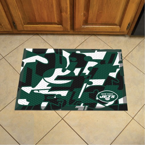 New York Jets Quicksnap Scraper Door Mat