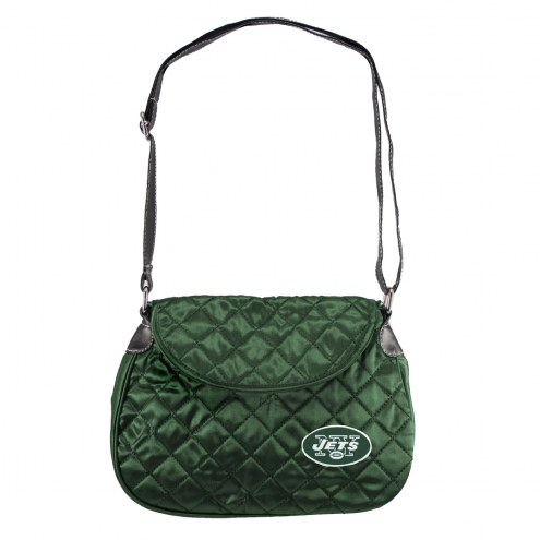 New York Jets Quilted Saddle Bag