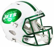 New York Jets Riddell Speed Collectible Chrome Football Helmet