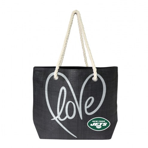 New York Jets Rope Tote