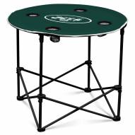New York Jets Round Folding Table