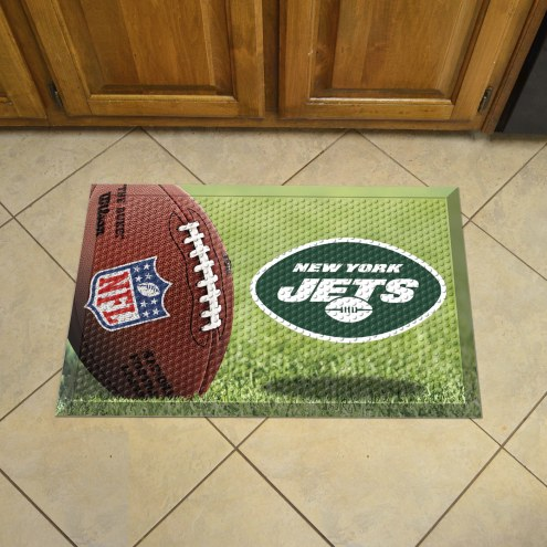 New York Jets Scraper Door Mat