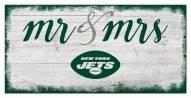 New York Jets Script Mr. & Mrs. Sign