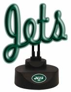 New York Jets Script Neon Desk Lamp