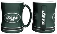 New York Jets Sculpted Relief Coffee Mug