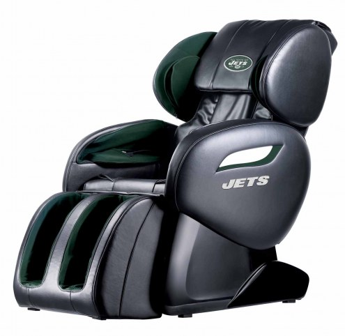 New York Jets Shiatsu Zero Gravity Massage Chair