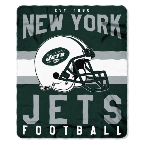 New York Jets Singular Fleece Blanket