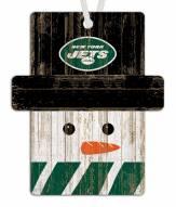 New York Jets Snowman Ornament