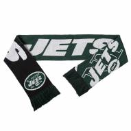 New York Jets Split Logo Reverse Scarf