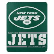 New York Jets Split Wide Fleece Blanket