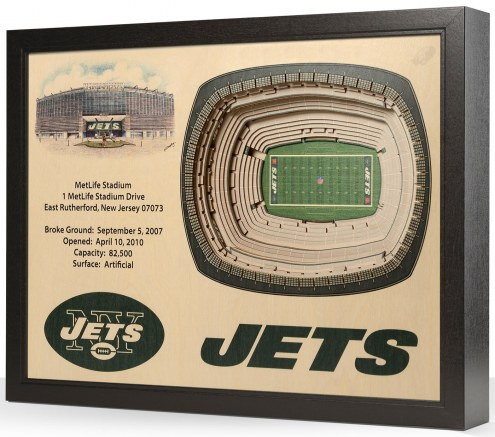 New York Jets Stadium View Wall Art
