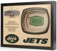 New York Jets 25-Layer StadiumViews 3D Wall Art