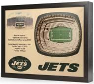 New York Jets 25-Layer StadiumViews 3D Wall Art