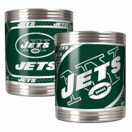 New York Jets Stainless Steel Hi-Def Coozie Set