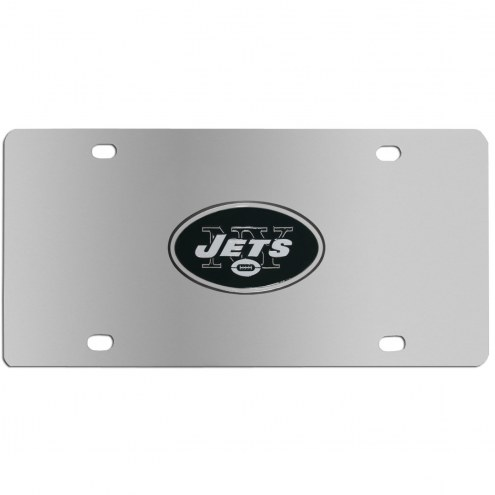 New York Jets Steel License Plate