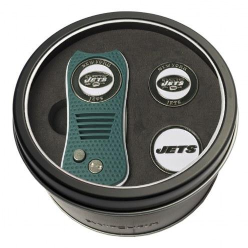 New York Jets Switchfix Golf Divot Tool & Ball Markers