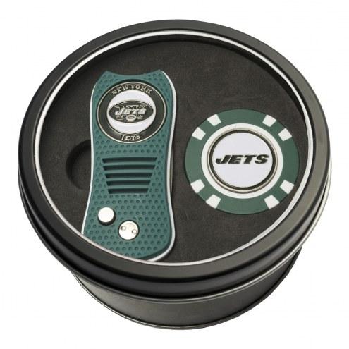New York Jets Switchfix Golf Divot Tool & Chip