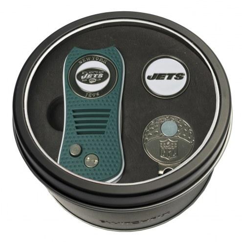New York Jets Switchfix Golf Divot Tool, Hat Clip, & Ball Marker
