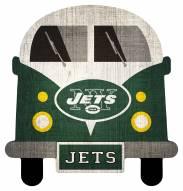 New York Jets Team Bus Sign