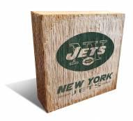 New York Jets Team Logo Block