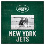 """New York Jets Team Name 10"""" x 10"""" Picture Frame"""