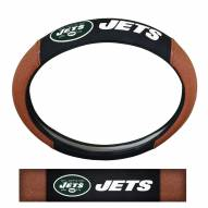 New York Jets Steering Wheel Cover