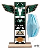 New York Jets Totem Mask Holder