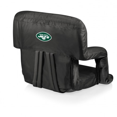 New York Jets Ventura Portable Outdoor Recliner
